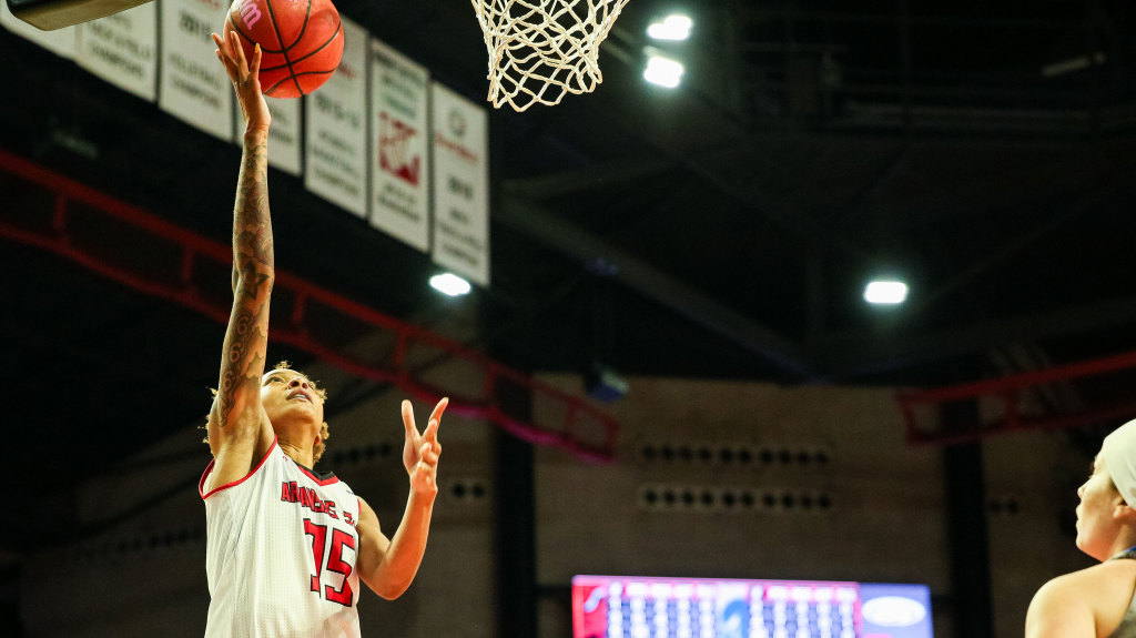 Murray State Holds Off Arkansas State, 77-62, On Tuesday