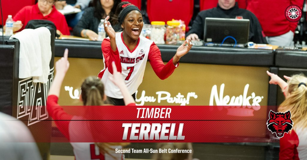 Terrell Tabbed Second Team All-Sun Belt Conference