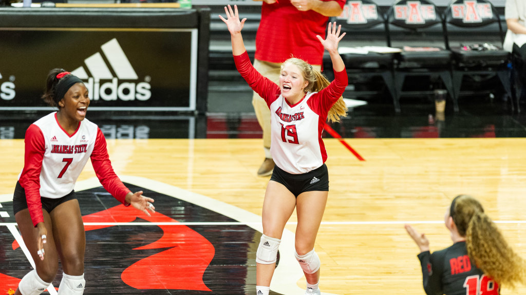 Ticket Punched!: A-State Sweeps ULM To Reach Sun Belt Conference Tournament