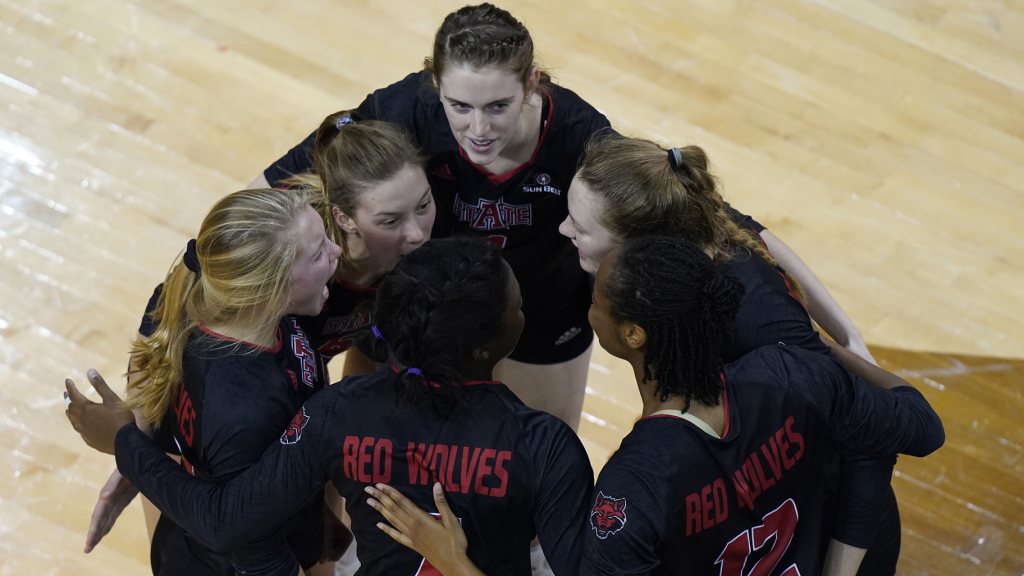 Troy Edges A-State In Tight Five-Setter In SBC Quarters
