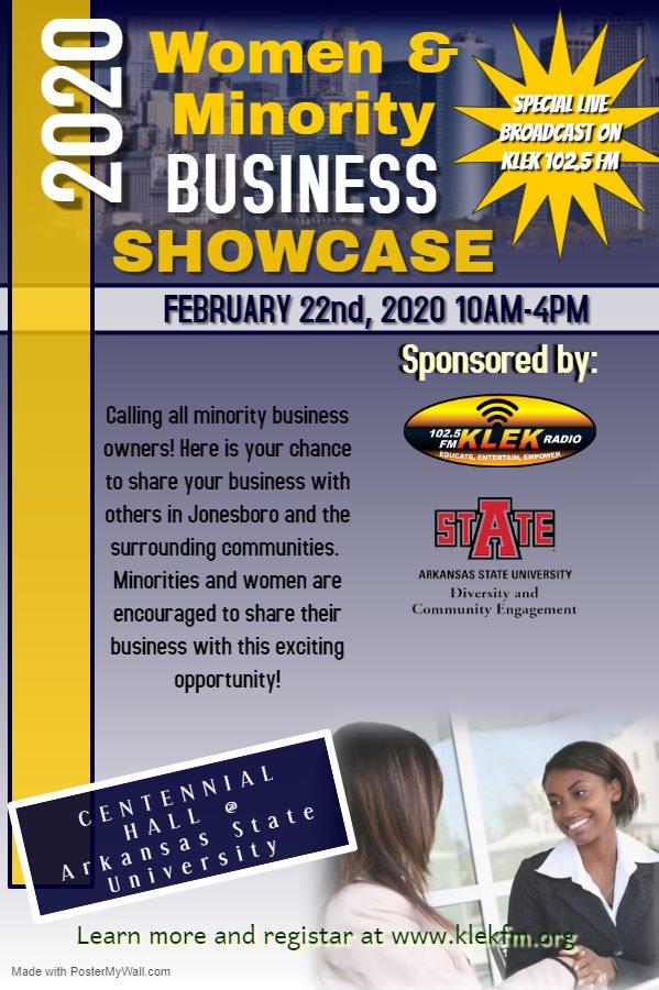 2020 KLEK Women and Minority Business Showcase