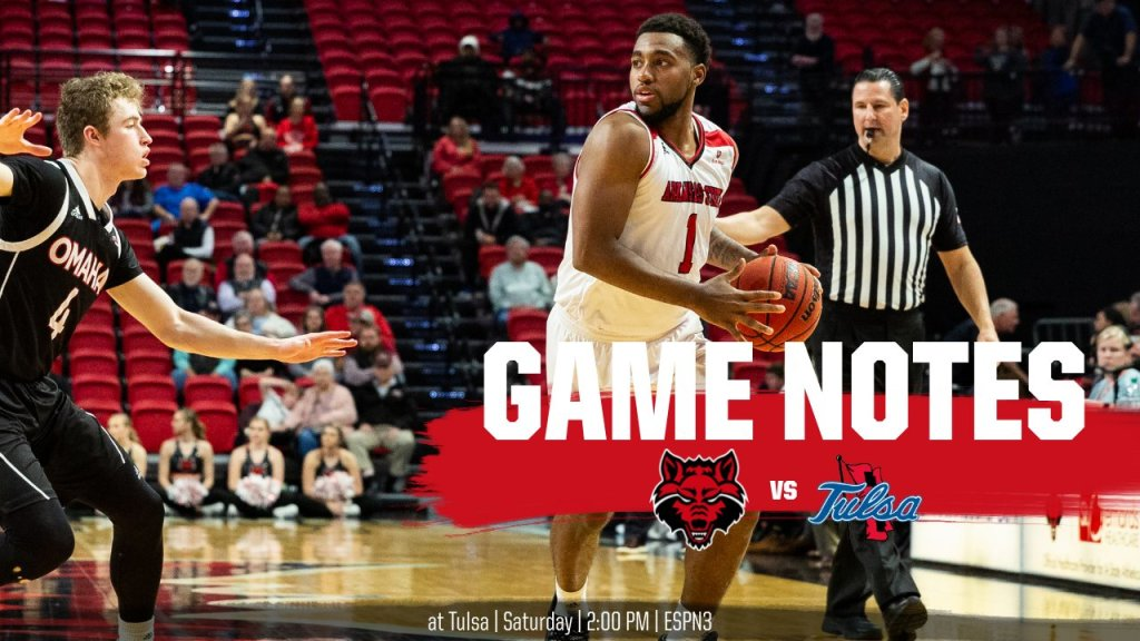 Game Notes: @AStateMB at Tulsa