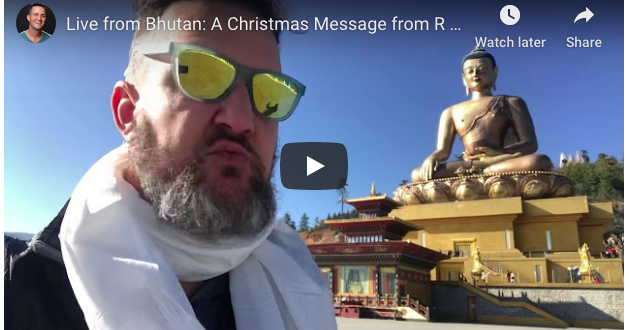 Live from Bhutan: Your Video Christmas Card from R Dub!