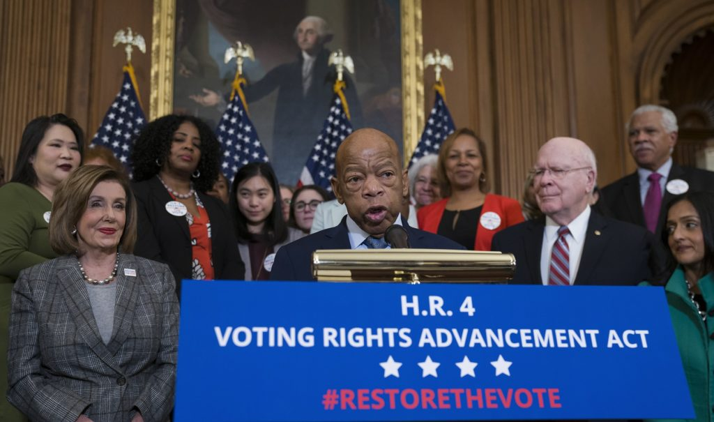 Marcia Fudge on House to Bill Restoring Voting Rights Act