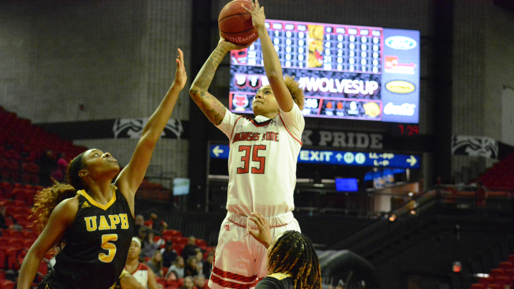 Red Wolves Earn Second Straight Win Monday Night Over UAPB