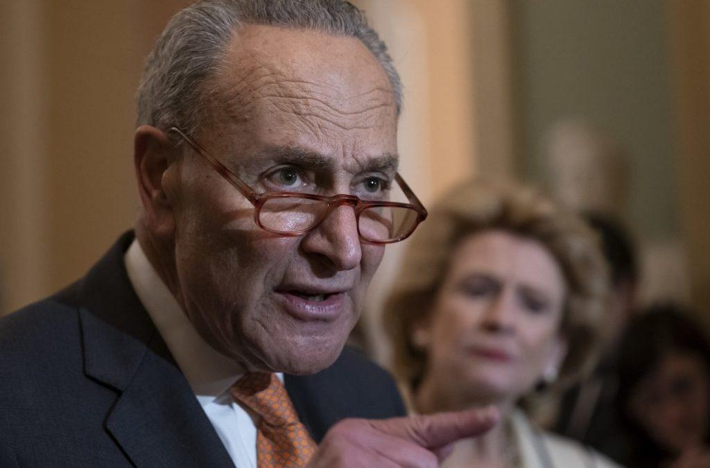 Sen. Schumer Speaks with April Ryan on Moving Forward in Senate