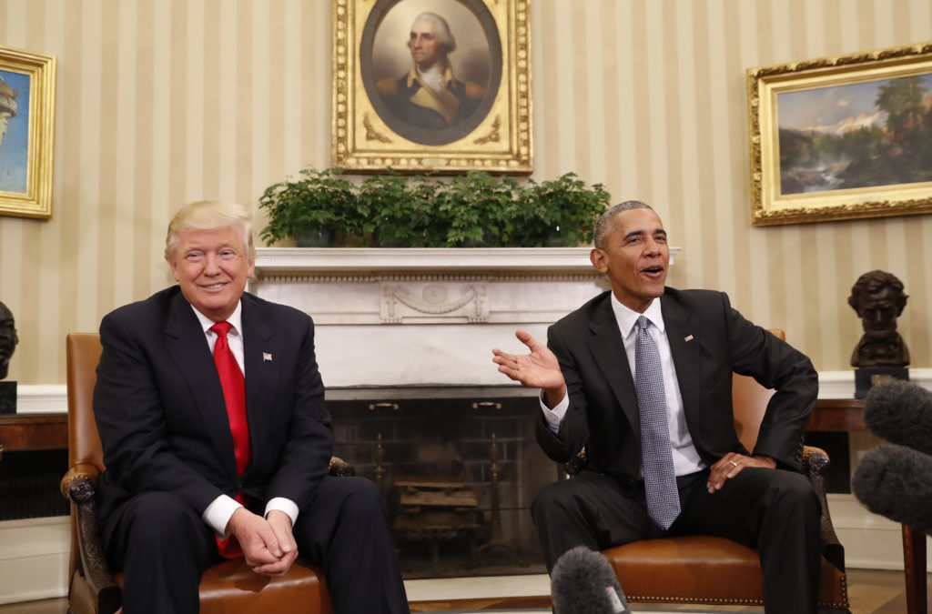 Trump and Obama Most Admired Men in New Poll