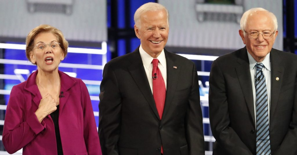 Ups and Downs for Democrat Candidates