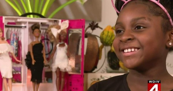 Neveah Woods, 9, Gets Noticed by Mattel for her Clothing Designs for Barbie Dolls