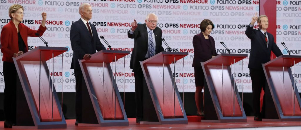 Zero Racial Diversity at Upcoming Democratic Debate