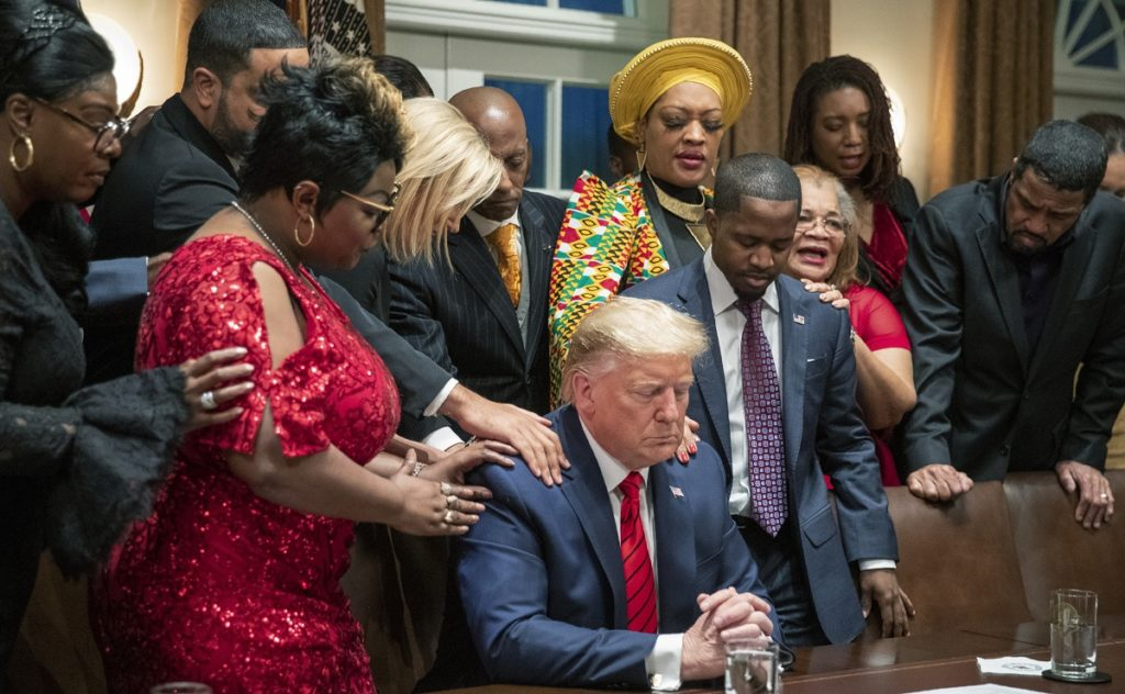 White House Hosts Black History Month Event in True Trump Fashion