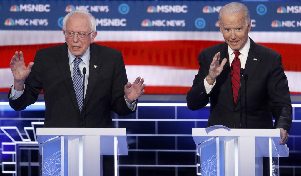 Biden Builds Double-Digit Poll Lead Over Sanders