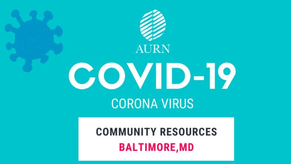 Coronavirus: Baltimore Community Resources