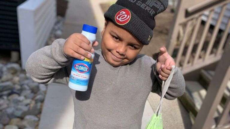 Maryland 1st Grader Cavanaugh Bell, 7, Uses $600 of his Savings to Make Covid-19 Care Packages for Seniors