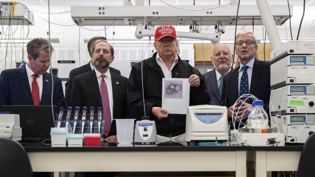 President Trump Reschedules Visit CDC
