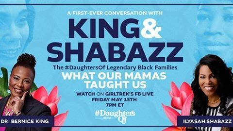 GirlTrek Brings #DaughtersOf Coretta Scott King and Betty Shabazz Together for 1st-Ever Public Conversation this Friday
