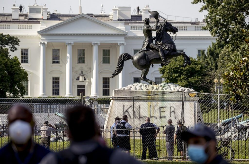 Calls to Remove Confederate and Offensive Monuments Rebuffed by Trump