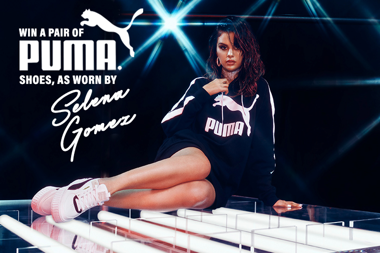 Win a pair of PUMA shoes as worn by Selena Gomez