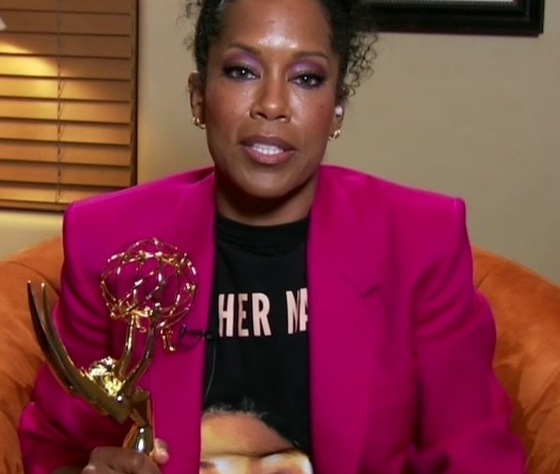 PandEmmys: Regina King Talks Winning Fourth Emmy, Speaking Up For Justice