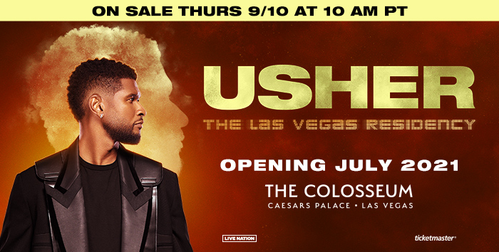 Win a Trip to See Usher in Las Vegas!