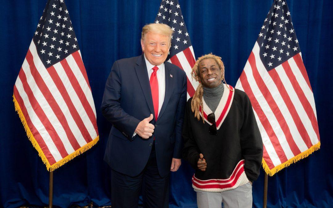 Former Apprentice Contestant Lil Wayne Endorses Trump