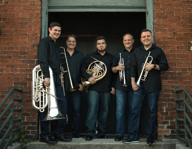 Lecture-Concert Series to present Boston Brass, Oct. 18