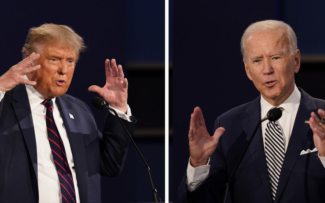 LISTEN: Trump, Biden Square Off in First Debate