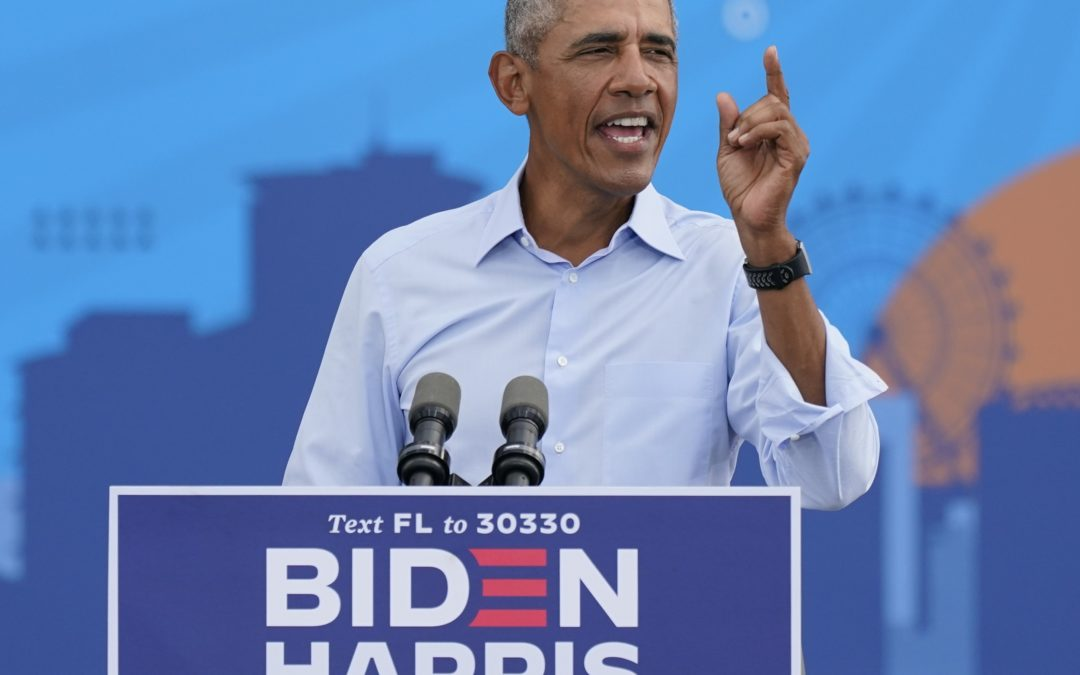 Obama Goes in on Trump at Florida Campaign Stop
