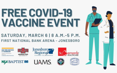 Northeast Arkansas NYIT COVID-19 Vaccine Event Now Open to Food Manufacturing Employees