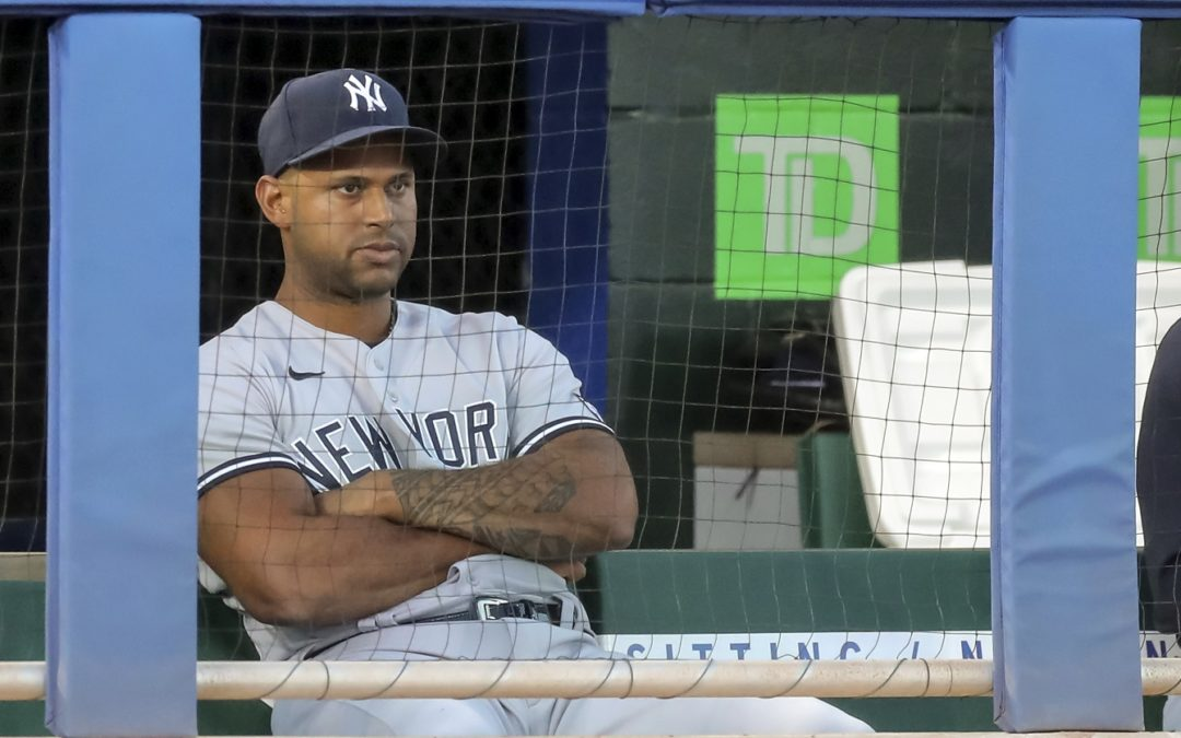 Aaron Hicks Sits Out Yankees-Blue Jays Game in Protest of Daunte Wright Shooting