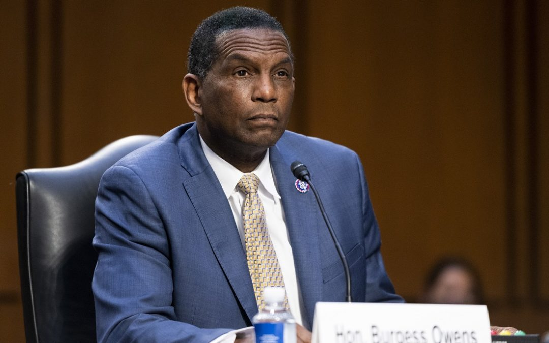 Rep. Burgess Owens Denounces Reparations