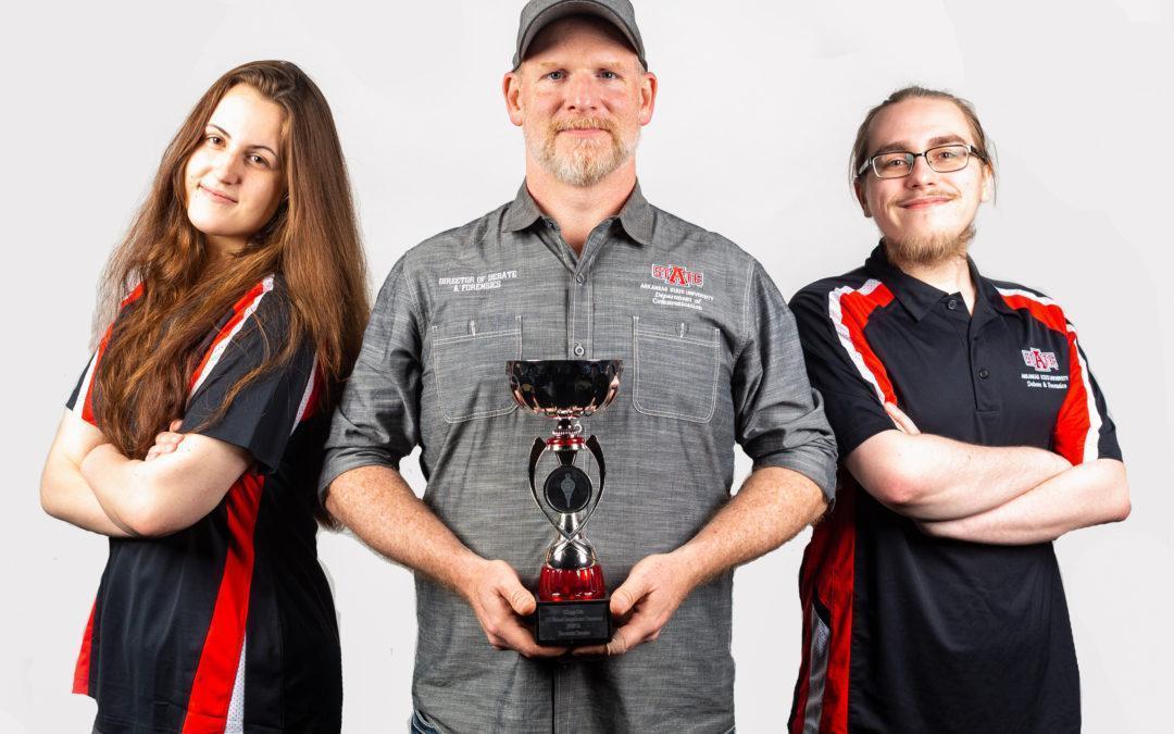 Debate Team Captures Pi Kappa Delta JV Parliamentary National Championship