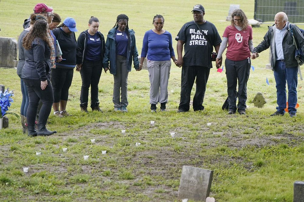 Grave Excavation Finds Five Coffins Thought To Be 1921 Tulsa Massacre Victims