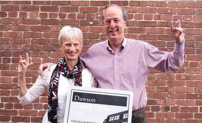 Alumni Scott and Kay Dawson Make Major Gift to Master of Accountancy with Data Analytics