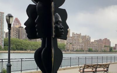 New York Artist Tanda Francis and Others Turn Plywood from Black Lives Matter Protests into Public Art