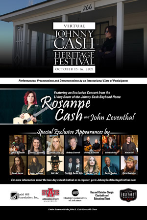 Lineup Announced for Oct 15-16 Virtual Johnny Cash Heritage Festival